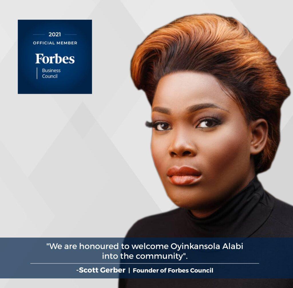 Oyikansola Alabi Forbes Council
